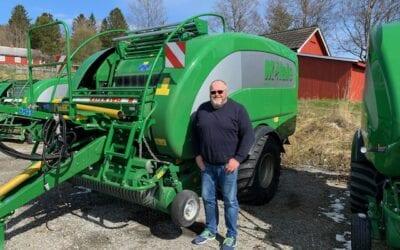 Grasentrepenør Snorre Hoff